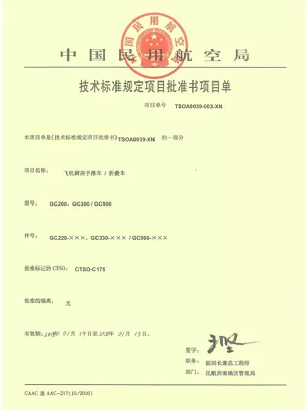 Certificates (2)
