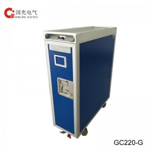 GC-220-G Full Size Aircraft Meal Trolley