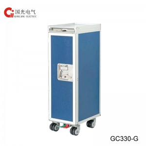 GC330-G Half size Meal Trolley with Dry-ice Tray