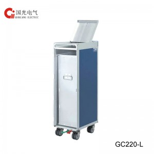 GC330-L Half Size  Waste Recycling Trolley