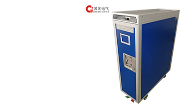 aircraft meal trolley