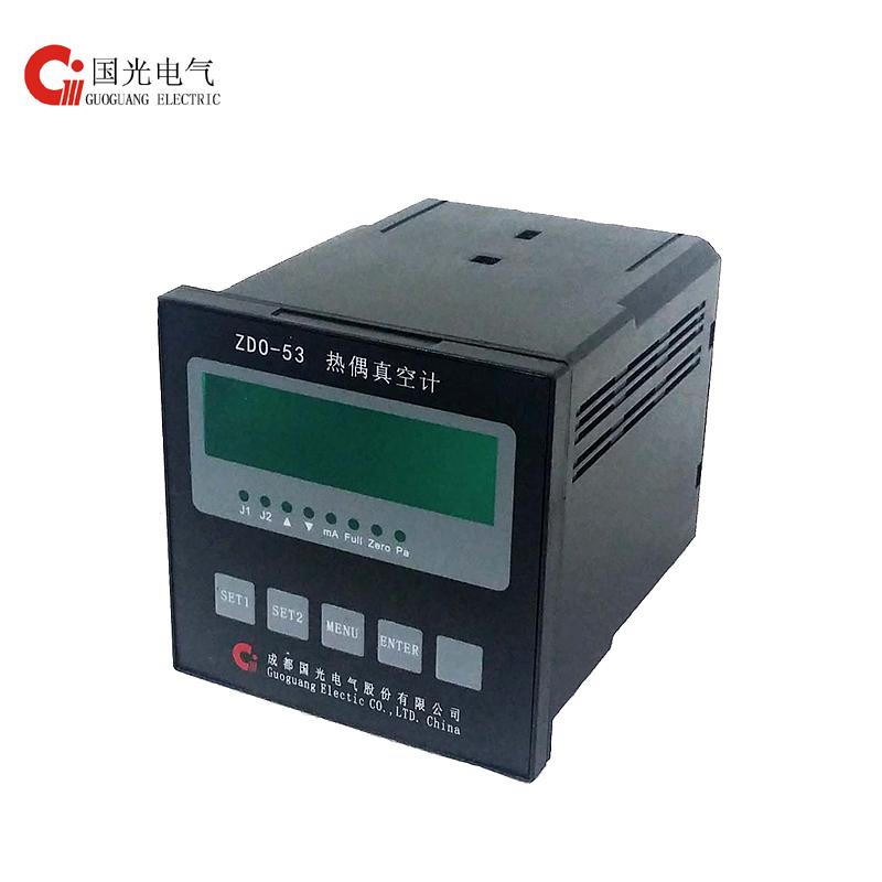 Thermocouple Vacuum Controller ZDO-53 with logo