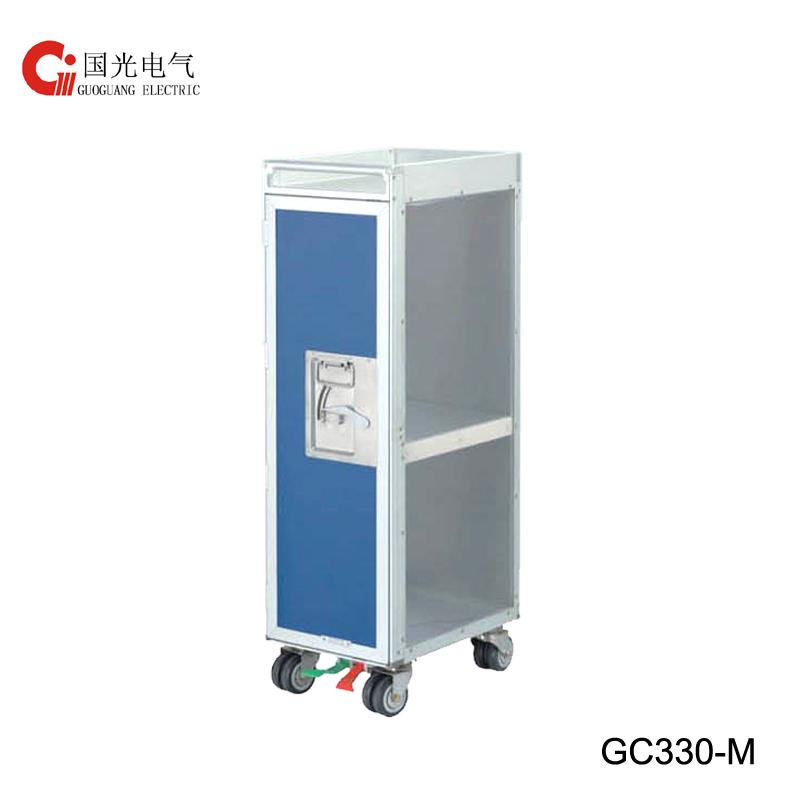 GC330-M Hlaf size Duty free Service Trolley with logo