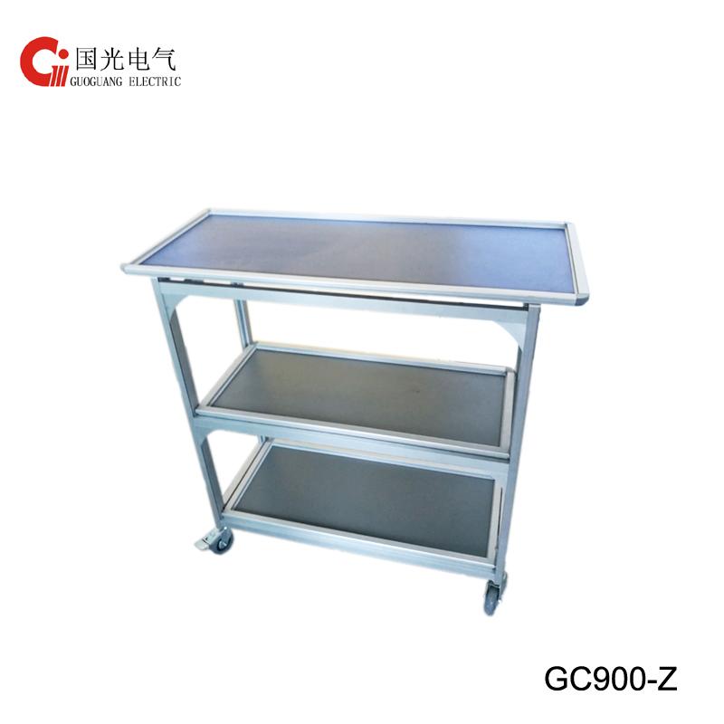 GC900-Z Folding Trolley with logo
