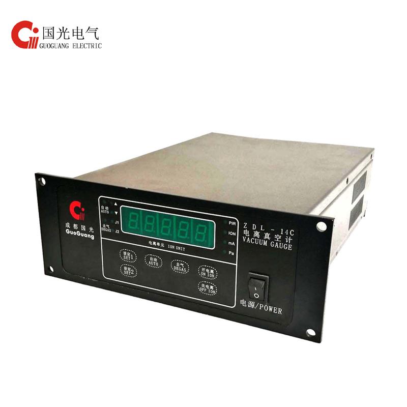 Cold Cathode Ionization Vacuum Controller ZDL-14C with logo